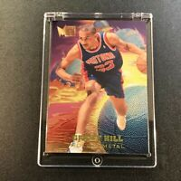 GRANT HILL 1995 FLEER METAL #2 MOLTEN METAL FOIL INSERT CARD DETROIT PISTONS NBA