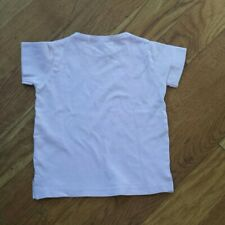Coco Cicilia lavender baby tshirt (stained) Size 1