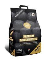 10 kg Kohle Manufaktur Premium Grillbriketts RAUCHFREI* bis zu 4,5 Std.