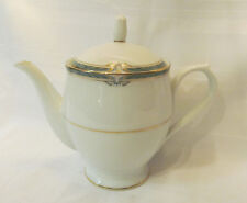 NORITAKE RC Japan GLENABBEY P586 Tea Pot with Lid Circa 1975 Some Damage