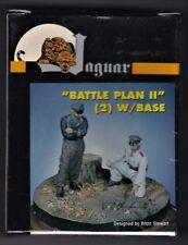 "JAGUAR MODELS 63059 - ""BATTLE PLAN II"" w/BASE (2) -1/35 RESIN KIT"