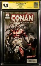 Conan the Barbarian #8 (2019) CGC 9.8 Carnage-ized Variant Signed by Sienkiewicz