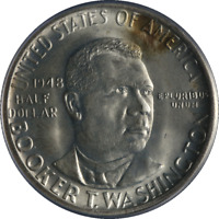 1948-P BTW Booker T Washington Half Dollar PCGS MS66 Great Eye Appeal