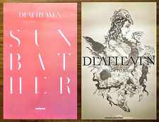 DEAFHEAVEN Sunbather   Roads To Judah Ltd Ed 2 Discontinued RARE Posters Lot!