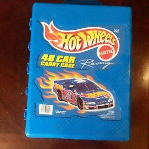 Mattel Hot Wheels 48 Car Carry Case Style No. 20020 Vintage 1998