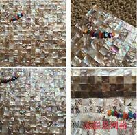 Natural shell mosaic tile mother of pearl kitchen backsplash wall groutless tile