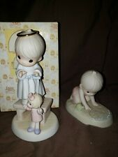 New ListingPrecious Moments # 325325 & #129488 Excellent condition. 1 w/ box, 1 without