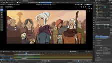 Animation Software Pro Graphics 3D Film Studio Blendr 3D 2D Windows Mac Download