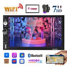 7'' 2 DIN Android 8.1 Autoradio Navegación GPS Bluetooth Radio Wifi USB de Coche