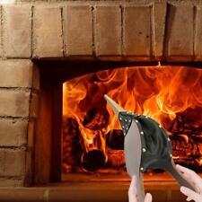 Bellows Dark Brown Fireside Fireplace Traditional Stove Fire Lighter Blower YR