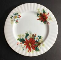 Royal Albert Bone China Poinsettia Salad Plate
