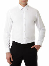 "Remus Uomo Tapered Fit Shirt/White - 17"" SRP £36.00 (18300/01)"
