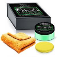 Green Car Wax Carnauba Radiant Glow High Gloss 150g Kit Pure Definition