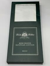 BROOKS BROTHERS COUNTRY CLUB LARGE EGYPTIAN COTTON BRIEF BRIEFS UNDERWEAR  GENTS
