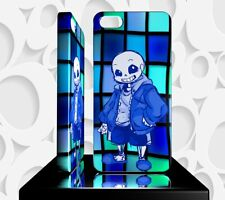Coque Design  Iphone 5S JEU VIDEO UNDERTALE - Réf 05