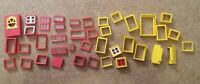 Lego Bundle Lego Red Door Yellow Door Red Wall Yellow Wall Windows 40 Items