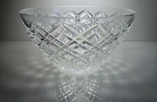 Tiffany & Co Round Bowl Criss Cross Design 9 1/2""