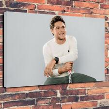 "Niall Horan Scatola stampata foto su tela A1.30""x20"" 30 MM DEEP FRAME Music"