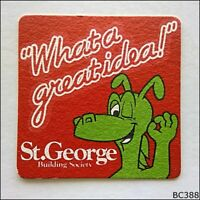St George Building Society What a great idea! Australia Coaster (B388)