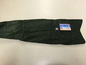 Petrageous Designs Dog Jacket Green Hooded Corduroy Large New