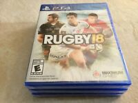 Rugby 18 (Sony PlayStation 4, 2017) PS4 NEW