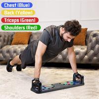 Fitness Kollapsel 9 in 1 Multifunction Body Building Push Up Rack Board