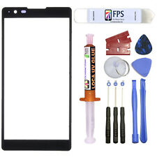 For LG X Power LS755 K220 Repair Outer Front Screen Glass Lens 5ml UV LOCA Glue