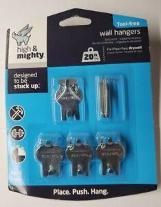 Hillman High & Mighty Tool-Free 20lbs 5 Pcs Drywall Hanging Kit 515313