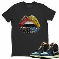 AJ 1 Retro OG Bio Hack Sneaker Matching Tees and Outfit Lip Jewel T Shirt