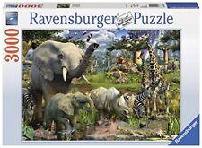 Ravensburger 17070 - puzzle animales en el abrevadero