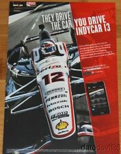 """2013 Will Power Verizon """"They Drive The Car"""" Chevy Barber thinstock handout"""