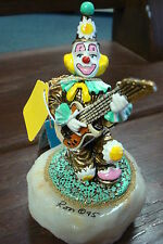 RON LEE WORLD OF CLOWNS 1995 CCG-9 #C95 CLOWN WITH GUITAR ROCK-A BILLY