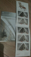 TITANIC 1x BOOKLET OF 10 STAMPS 100TH ANNIVERSARY - FREE SHIPPING WORLDWIDE