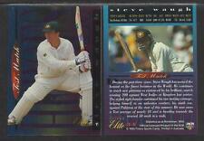 FUTERA 1996 CRICKET ELITE STEVE WAUGH TEST HEROES CARD No 34