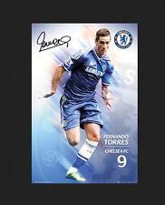Fernando TORRES Chelsea FC SOCCER Poster 2012-2013 BRAND NEW