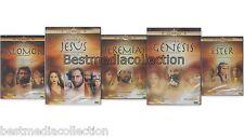 Salomon / Jesus / Jeremias / Genesis / Ester DVD NEW 5 Movie La Biblia COLECCION