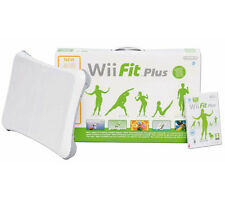 Wii fit plus with balance board + 3 games + controller charger