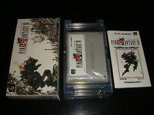 Final Fantasy VI Nintendo Super Famicom Japan