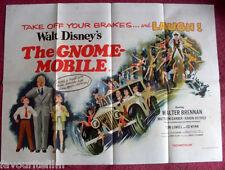Cinema Poster: GNOME-MOBILE, THE 1967 (Quad) Walter Brennan Karen Dotrice