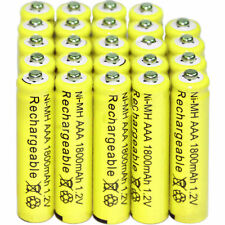 24pcs AAA Rechargeable Batteries Ni-Mh 1800mAh 1.2v Garden Solar Light Lamp