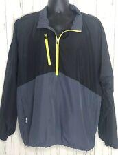 Paige and Tuttle Free Swing Blue Black Golf Wind Jacket Size Xl Waterproof