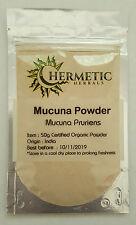 Mucuna Powder 50g - Mucuna Pruriens certified organic