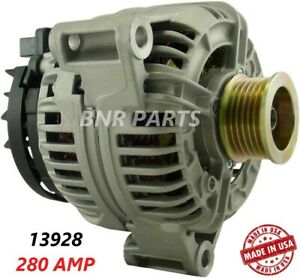 280 AMP 13928 Alternator Mercedes C CLK ML SLK High Output Performance LargeBody