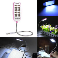 Bright Mini 28 LED USB Light Flexible Computer Lamp for Notebook Computer PC XH~