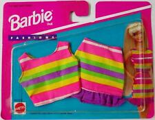 Barbie My Fashion Wish List Multi-Colored Striped Skirt and Top Fashion Pack 6..