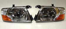 Mitsubishi Pajero Montero MK III 2000-2006 front head lamps lights  ONE SET
