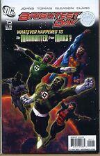 Brightest Day 2010 series # 15 very fine comic book