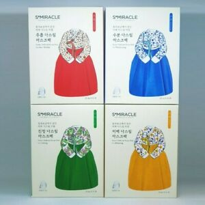 S+Miracle Korean Traditional Recipe Mask Pack For 4 Type Anti Aging K-Beauty