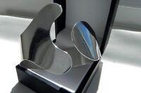 IMPOSING! Modernist 46g sterling silver full HM avant garde cuff bangle bracelet