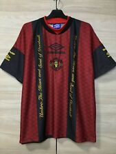 Manchester United Training Football Soccer Vintage Umbro Sharp Jersey Shirt XL